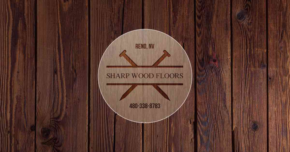 sharp wood floors logo
